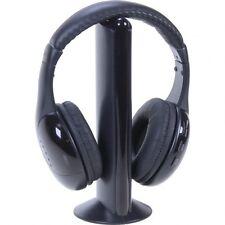 Kabelloser Kopfhörer TV Kopfhörer schwarz
