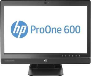HP AIO PROONE 600 INTEL CORE i7 4770 3.1GHZ 8GB 480GB SSD DVDRW WIN10 WIFI CAM