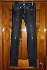 True religion Stella Big T Distressed Skinny Jeans, 25