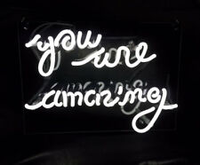 """New You Are Amazing Pub Acrylic Neon Light Sign 14"""""""