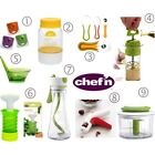 Chef'n Kitchen Gadgets Many Items-- U Choose!  Peeler Huller Stripper Buttercup