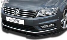 VW Passat B7 / 3C R-Line Front Splitter Bumper Lip Spoiler