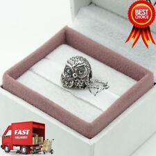 Pandora, Charming Owls, Bird, Owl, Bracelet Charm 791966