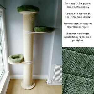 ARMY GREEN WAFFLE Replacement Pet Bed for Natural Paradise Cat Pillar Post XXL