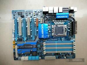ONE Gigabyte Used Technology GA-EX58-UD5 64GB LGA 1366/SocketB Intel Motherboard