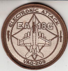 VAQ-209 STAR WARRIORS EA-18G ELECTONIC ATTACK DESERT SHOULDER PATCH