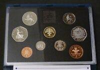 1992 Royal Mint UK Proof 9 Coin Year Set Contains Rare EC 50p 1992/1993 + COA