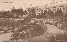 Postcard: British Empire Exhibition 1924 - The Lake Gardens