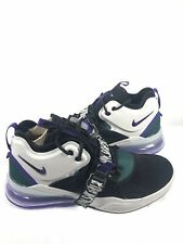 NIKE AIR FORCE 270 Men's Shoes  Black Court Purple  AH6772 005 New With Box