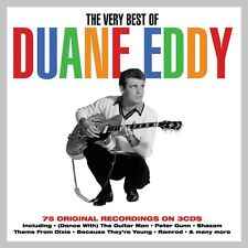 Duane Eddy VERY BEST OF 75 Original Recordings ESSENTIAL COLLECTION New 3 CD