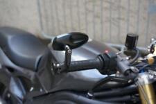 RETROVISORES TAPONES DE MANILLAR NEGRO CAFé RACER MOTO GUZZI V7 T2
