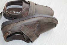 Dr keller femme wide fit chaussures femme mocassin talon compensé plat confort décontracté mocassin