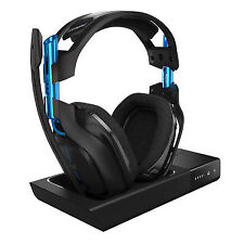Astro A50 Black Headband Headsets and Base Station for PS4