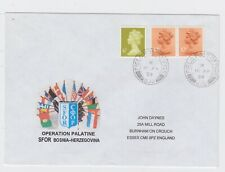Bosnia Herzegovina 1999 SFOR Field Post Office 572 LIPA British Forces Cover