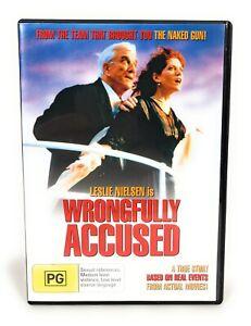 Wrongfully Accused DVD (1997) Region 4 Leslie Nielsen, Kelly Le Brock, Free Post