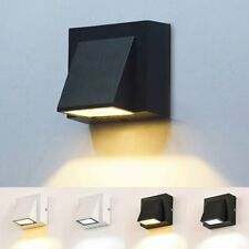 Modern LED Wandleuchte Außen Wand-Lampe IP65 Garten-Leuchte Balkon Tür Licht DE