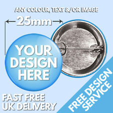 More details for 25mm custom badges • personalised printed badge • hen stag promotional button
