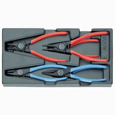Gedore 1402196 1500 ES-8000 Circlip pliers in 1/3 ES tool module, 6 pieces
