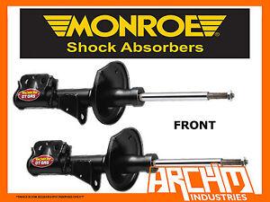 HOLDEN ADVENTRA VZ 4WD WAGON 4/05-06 FRONT MONROE GT GAS SHOCK ABSORBER STRUTS