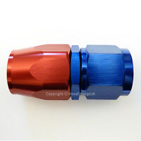 AN -8 AN8 JIC Straight Swivel FAST FLOW Fuel Oil Braided Hose Fitting