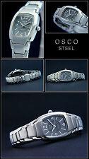Osco Sporty & Elegant Women Watch Stainless Steel 5 Bar Waterproof