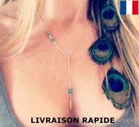 Collier pendentif choker  femme cadeau bijoux soirée mariage Anniversaire Mode