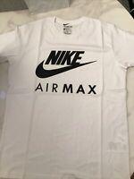 Nike Air Max Mens White New Season T Shirt £18 XXL