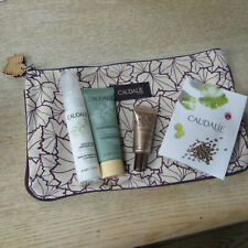 Caudalie - Xmas Party Essentials Make-Up Pouch & Contents.