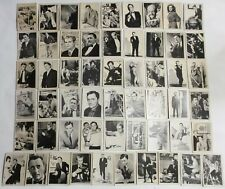 55 Man From Uncle A&BC Trade Cards. Complete Set Original.