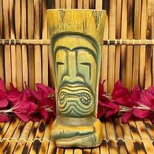 The Desert Oasis Room One Year Anniversary Tanduay Rum Tiki Mug Driftwood Brown