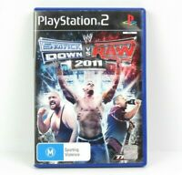 Smackdown VS Raw 2011 PS2 Playstation 2 Game Complete With Manual PAL