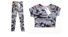 Camouflage Cropped T-Shirts & Tops (2-16 Years) for Girls