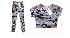 Camisetas y tops de niña de 2 a 16 años de manga corta color principal gris