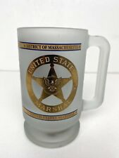 United States Marshal Mug Cup Footed District of MASSACHUSETTS