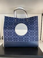 COACH Dempsey Tote 40 In Signature Jacquard With Patch C2827 -NWT- $450
