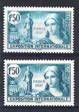 """FRANCE TIMBRE 336 """" EXPOSITION PARIS 1F50 VARIETE COULEUR """" NEUFS xx LUXE P751"""