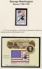 LIBERIA ALL US PRESIDENTS STAMPS TO GW BUSH + S/S - SHOWING 12 OF THE 43 PAGES