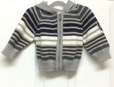 Kenneth Cole Reaction Boys Size 12 Months Hoodie Front Zip Jacket / Sweater
