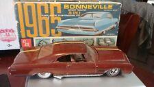 Vintage AMT Built Up 1966 Buick Wildcat w/65 Bonneville Box