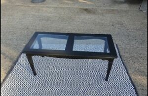 glass coffee table used