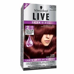Schwarzkopf Live Salon Gloss 5-89 Dark Berries - Makeup Warehouse