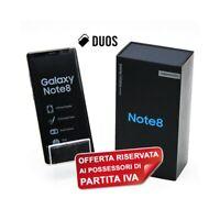 "SAMSUNG GALAXY NOTE 8 DUOS GOLD 64GB 6,3"" DUALSIM N950FD N950F PER P.IVA-"