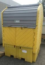 New listing UltraTech Ultra-Ibc HardTop 360 Gallon Tank Drum Safety Outdoor Storing 52x52x61