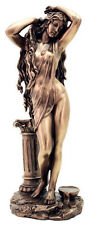 Aphrodite Venus Statue Bathing with Column Goddess of Love and Beauty #3231