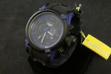 Invicta Russian Diver Blue Black Dial Chronograph Men's Watch 0518