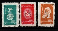 China Prc 1952 - Int Labor Day - Mi 143-145 - Mlh