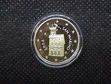 2008 SAN MARINO MONETA da 2 EURO FONDO SPECCHIO PROOF BE  PP DA SET UFFICIALE