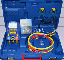 WK-6889 Digital Testing Manifolds Refrigeration Pressure Vacuum Gauge