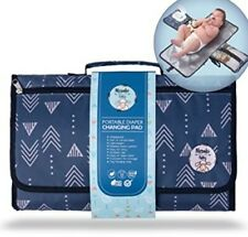 Portable Baby Diaper Changing Pad | Waterproof Station Mat Travel Cushion Pillow