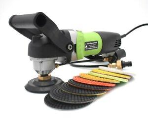 Professional 230v Wet Polisher & Grinder For Stone or Concrete UK plug